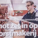 Publicatie slagersvakblad Vleesmagazine